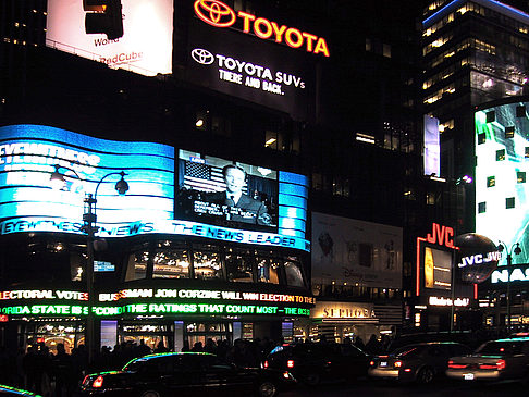Fotos Times Square bei Nacht | New York